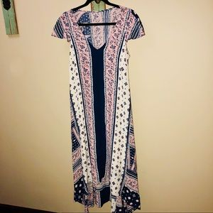Anthropologie Maeve high low dress NWT small